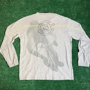 Vintage Nautica Competition cycling L/S Tee size L
